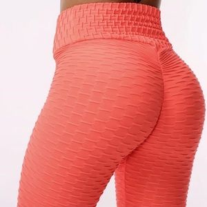 Pants - 🍉 CORAL BRAZILIAN Leggings Booty 🇧🇷 AUTH
